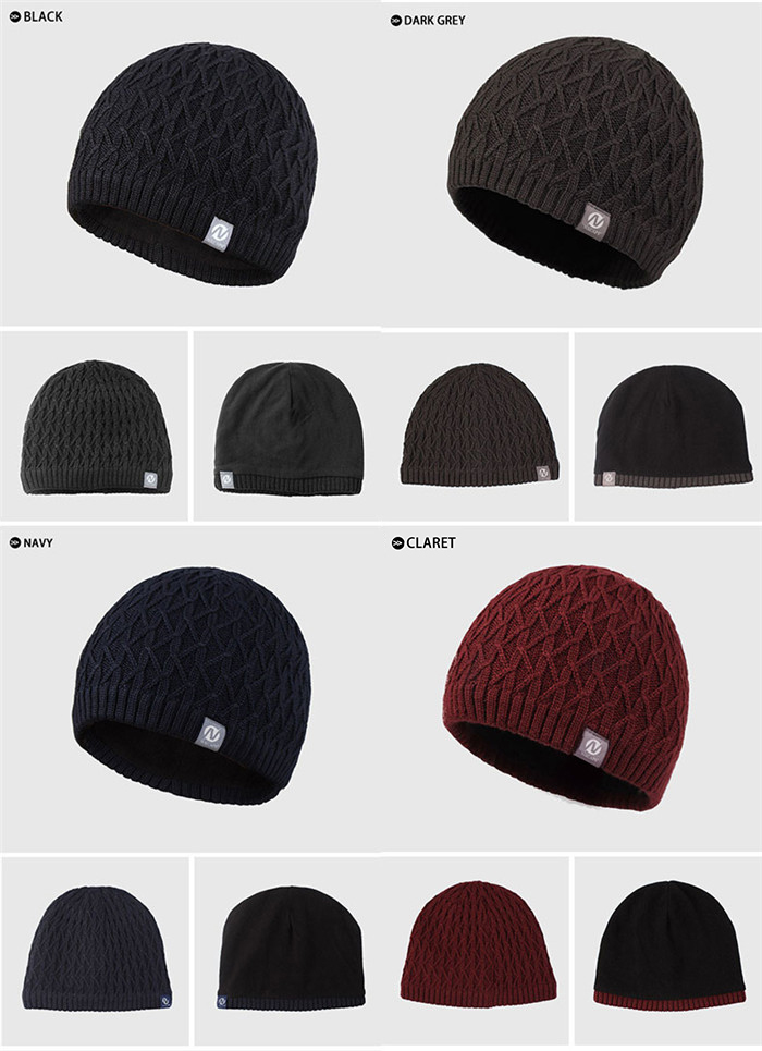Custom wool knitted cap waterproof beanie hats Personalized straight needle  knit hat patterns men free knitted beanies hat 7d5a2d7e296