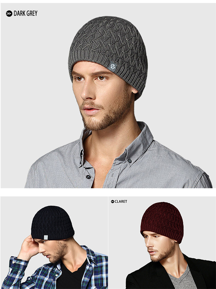 Wholesale mens beanie winter cap waterproof navy blue knit hat patterns baby knitting hats boys knitted beanie caps