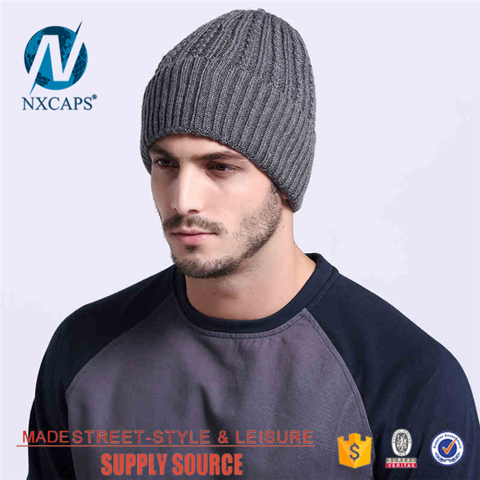 Cuff beanie hat plank custom label knited fold beanies hats fashion blank hip hop spring hat Personalized Manufacturer price