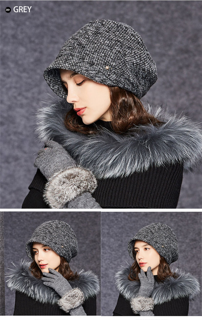 ebde845b2a3 Wholesale cable knit cuff beanie hat short bill lady free knitted beanie  hat metal button baby beanie hats