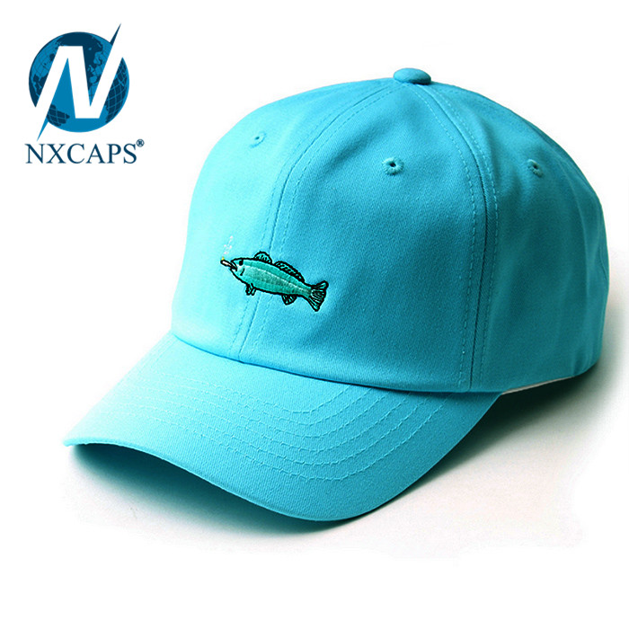 4fd6187de1df1 Personalized two tone dad hats blue and white hit colour baseball cap kids  dad hats plain with adjustable Metal buckle