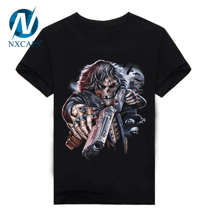New Fashion Brand Clothing 3D Indians Print T shirts Cartoon Printed T Shirts with Size and Color Customized Plus Size