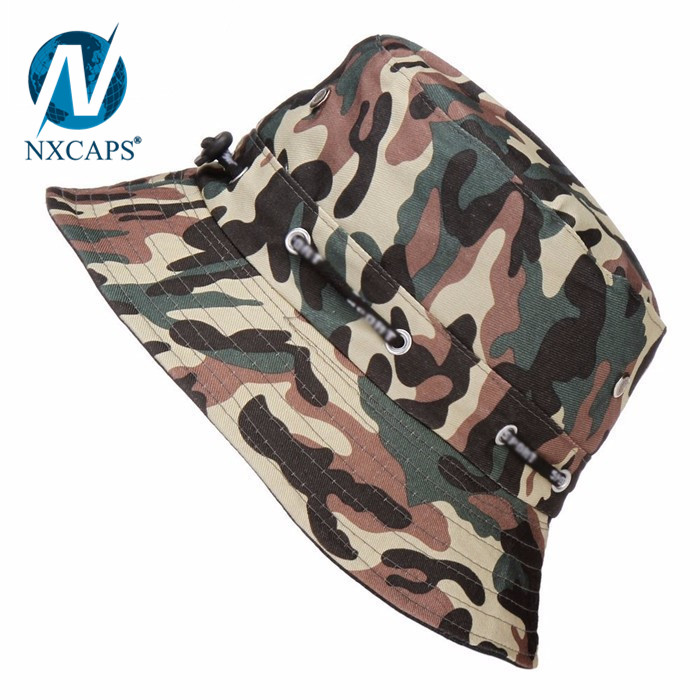 18f3903b90d1c ... Camo Military Boonie Hunting Army Fishing Bucket Hat Rapid Dominance Wide  Brim Camping Hat City Digital ...