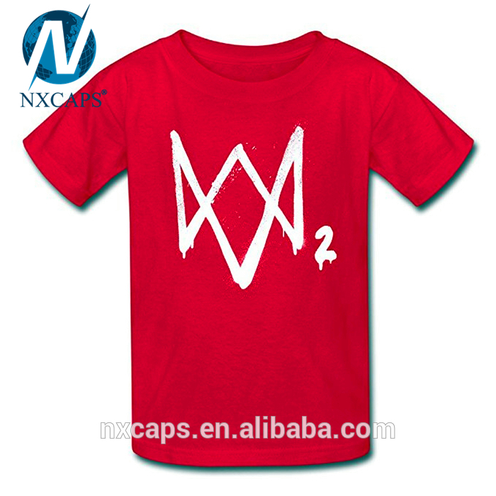 Watch dogs 2 headgear Dedsec Aiden Pearce cosplay T-shirt printing logo blank T-shirt Marcus holloway,Watch Dogs 2,Cosplay Sweatshirt Custom,Customized Printing Logo T Shirt,nxcaps shenzhen fashion company