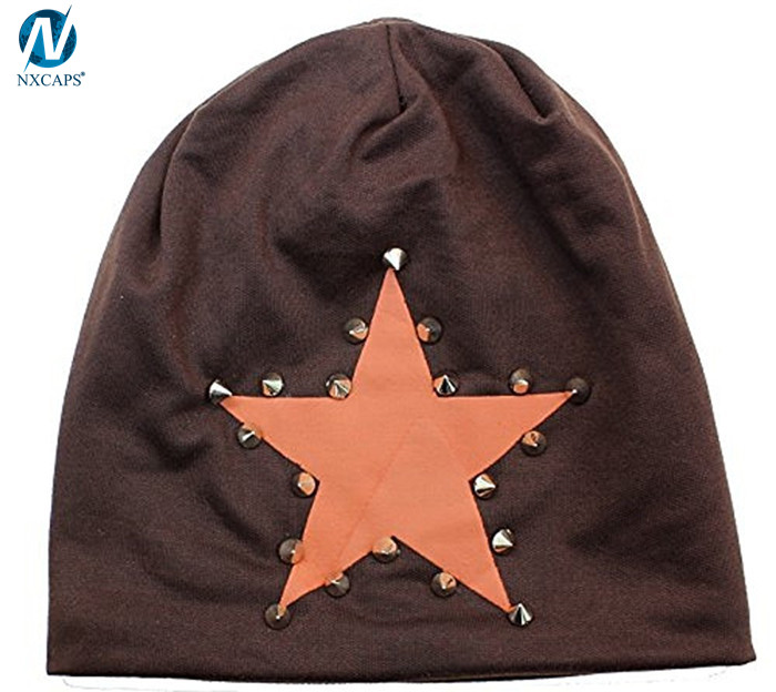 Metal skull beanies cool bling hip hop the beanie fashion style hot sell America and Europe pop beanies cap and hat
