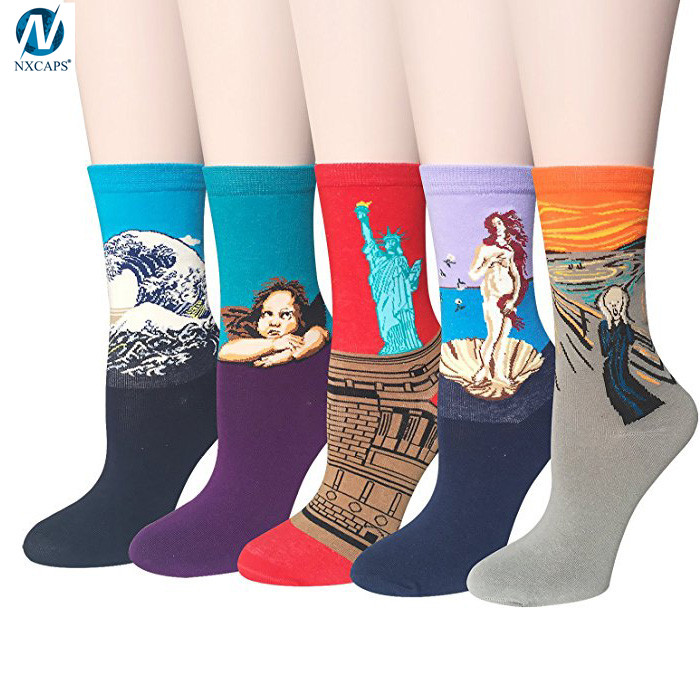 Art Socks,Socks Men Custom Logo,Crazy Socks,anti slip sock,nxcaps