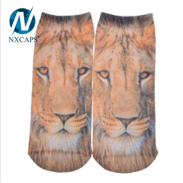 3d Printing Socks,Cartoon Socks,Print Tiger Socks,China Socks Factory,nxcaps