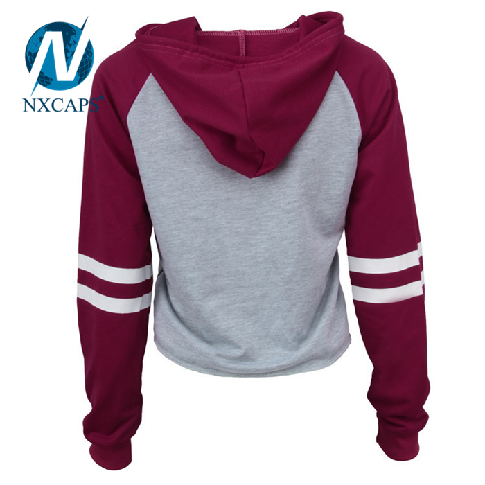 girls zipper hoodies,hoodies custom made,cotton girls zipper hoodies,zip up hoodie,long sleeve hoodie,wholesale hoodies,nxcapsColorblock Hoody,Blank Hoodies With No Labels,Raglan Jacket