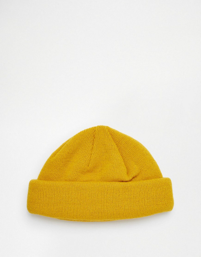 Fisherman Beanie,The Beanie,Yellow Beanie,nxcaps